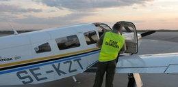 Nielegalni imigranci wylądowali prywatnym samolotem