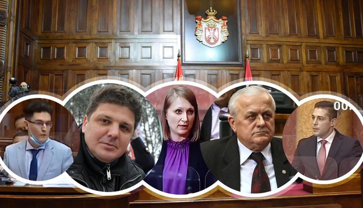 poslanici blamiranje kombo RAS tanjug odeljenje za medije i komunikacije, MIlos Cvetkovic, Emil Conkic Screenshot RTS