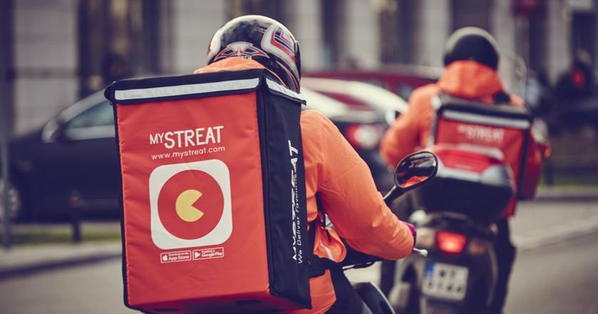 mystrEAT to startup, który dowozi jedzenie z restauracji prosto pod drzwi w ciągu 35 minut