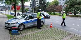 Policja w Rzeszowie kontroluje spaliny samochodów