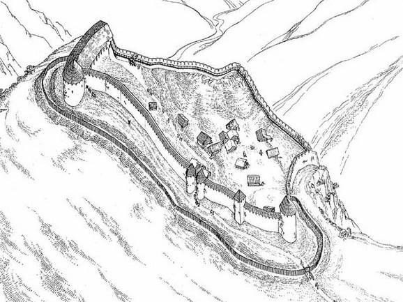 Grad Ras služio je kao vojno utvrđenje