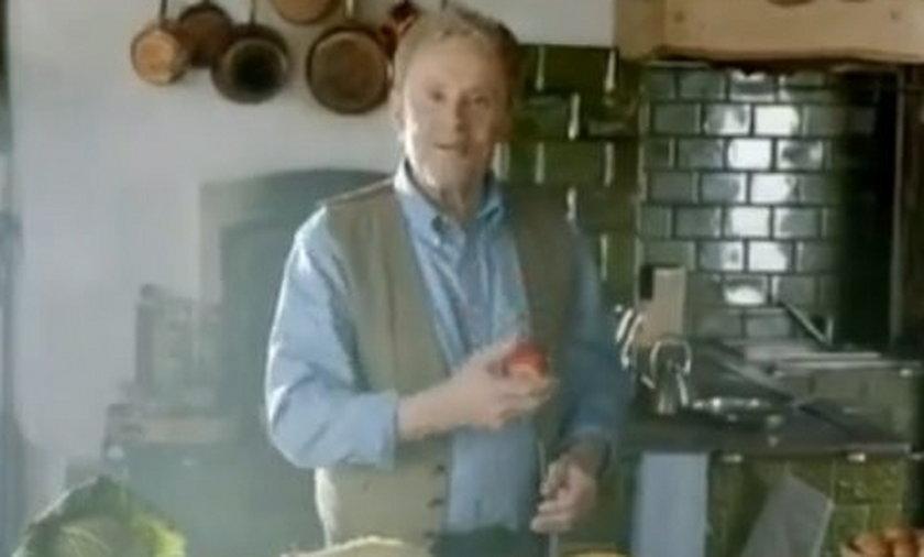 Daniel Olbrychski reklama Biedronki
