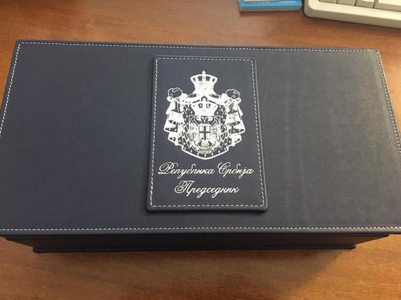 Poklon predsedniku Kine od Aleksandra Vučića