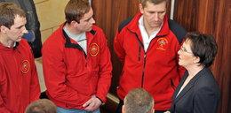 Premier Ewa Kopacz odwiedziła górników