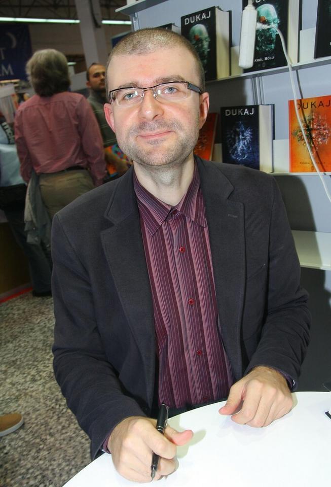 """Jacek Dukaj (fot. Damian Klamka) """"Lód"""", Wydawnictwo Literackie 2007"""