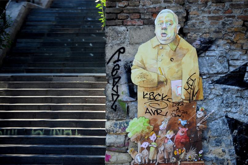 Ćopić od kartona - inicijativa za podizanje spomenika Branku Ćopiću