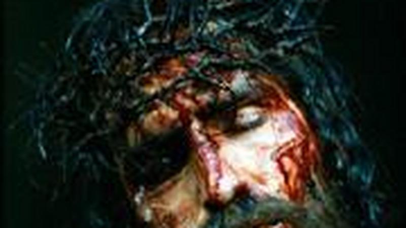 "Jim Caviezel jako Jezus Chrystus w ""Pasji"""