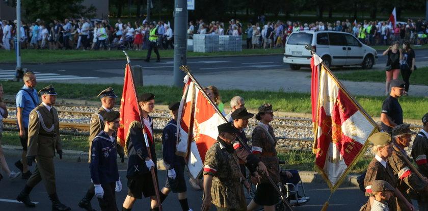 Marsz Pamięci Cywilnych Ofiar Powstania Warszawskiego w 77. rocznicę rzezi Woli