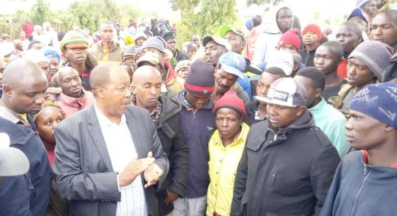 We forgave you but we never forgot – ex-Njoro MP Joseph Kiuna causes tension with  speech Rift Valley communities