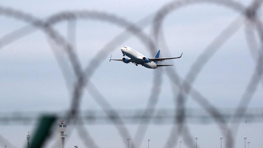 Samolot, którym Nawalny przyleciał do Moskwy