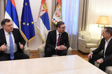 Aleksandar Vučić, Milorad Dodik, Milorad Pupovac