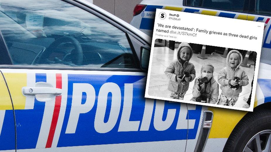 W Nowej Zelandii znaleziono trzy ciała małych dzieci