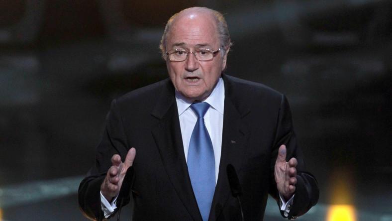 Prezydent FIFA zajął się korupcją