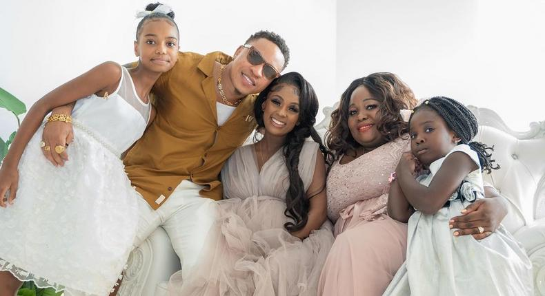 Vanessa Mdeee & Rotimi holds Exquisite Baby shower days announcing Pregnancy (Photos)