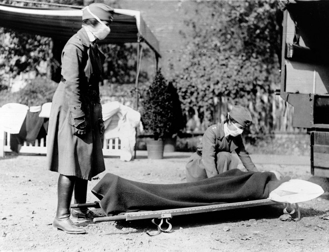 Pandemija španskog gripa 1918.