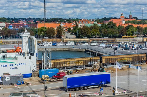 Port w Ystad, Szwecja