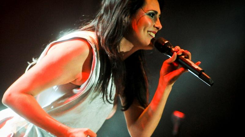 Within Temptation na Jarocin Festival 2012 (fot. Artur Rawicz/Onet.)