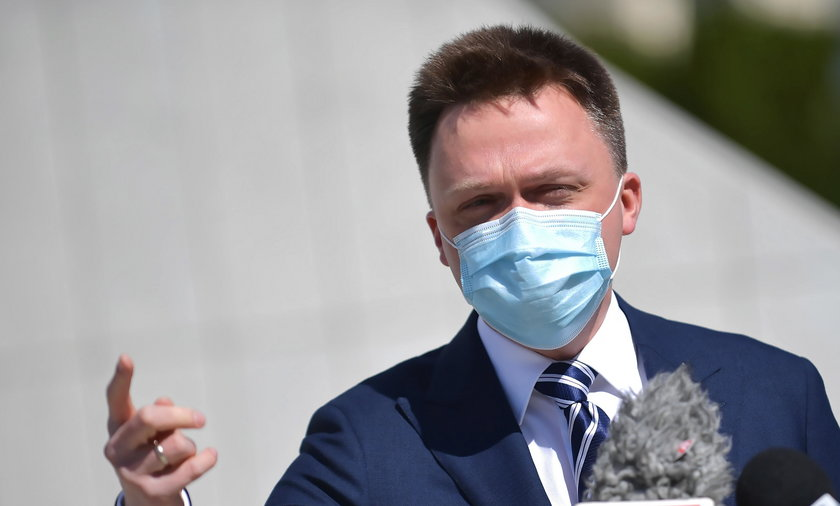 Szymon Hołownia namawia do szczepień na koronawirusa
