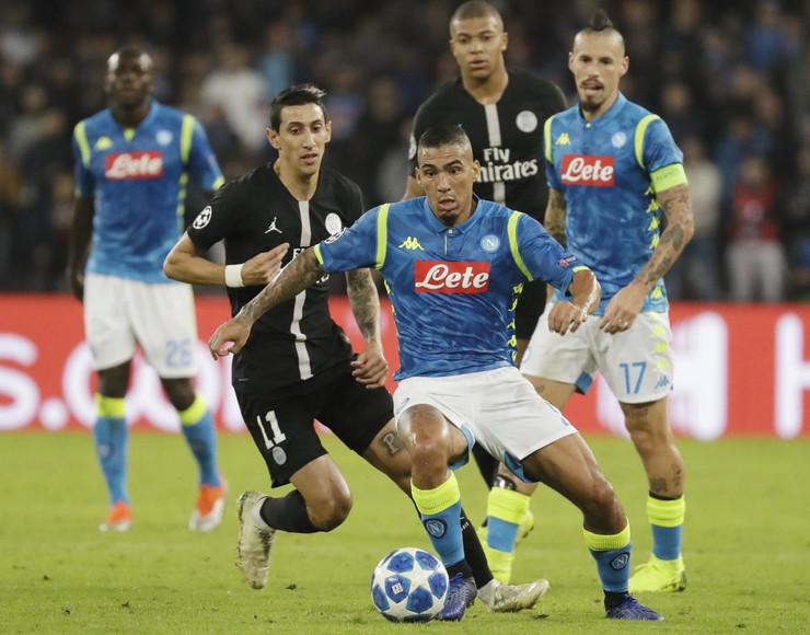 FK Napoli, FK Pari Sen Žermen