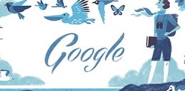 Rachel Louise Carson bohaterkądzisiejszego google