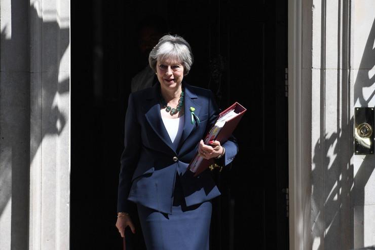 Premijerka Velike Britanije Tereza Mej