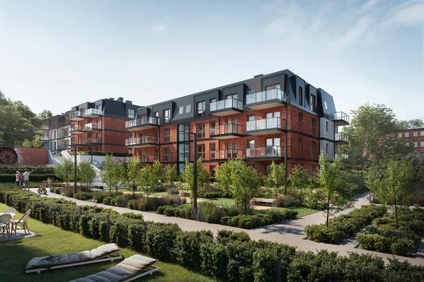 Młyny Gdańskie w umiejętny sposób łączą zalety mieszkania w centrum miasta z ciszą i spokojem zielonej enklawy