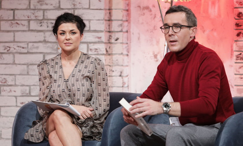 Katarzyna Cichopek i Maciej Kurzajewski.