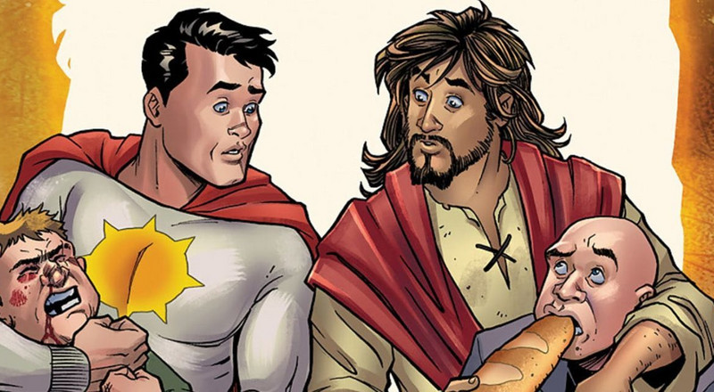 "Has DC comics crossed the line of ethics with its new comic series ""Second Coming""?"
