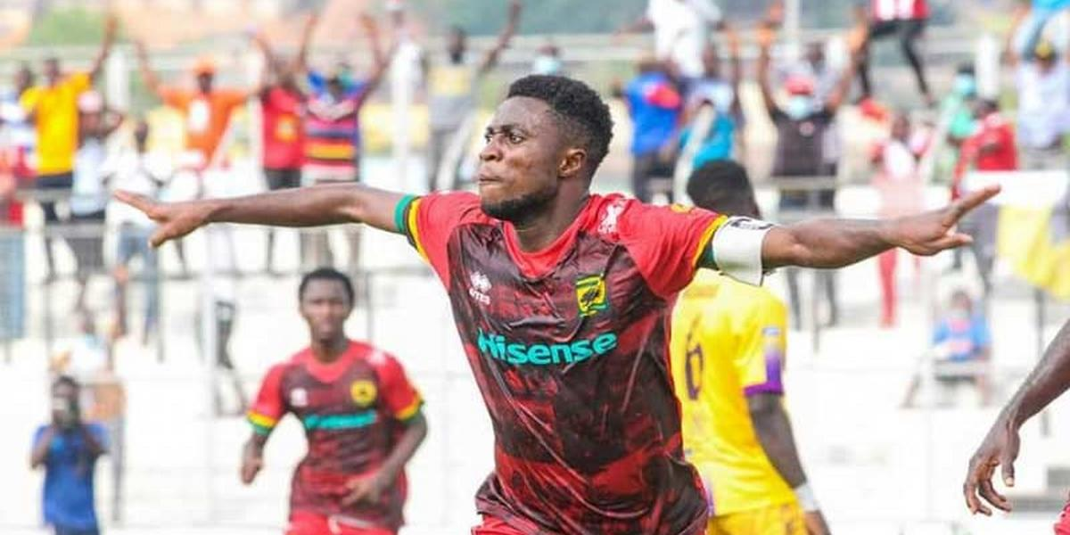 Emmanuel Gyamfi: Kotoko star to feature against Hearts despite misconduct charge