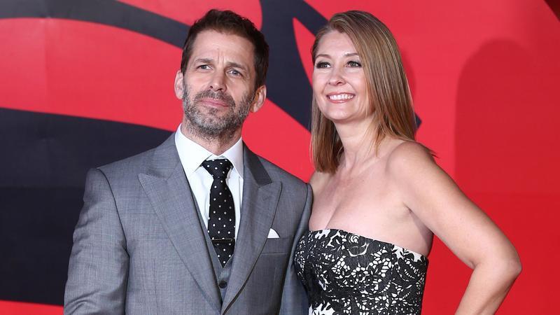 Zack Snyder z żoną, Deborah Snyder