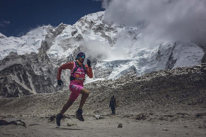 Robert Celiński pięć razy walczył w maratonie pod Mount Everestem