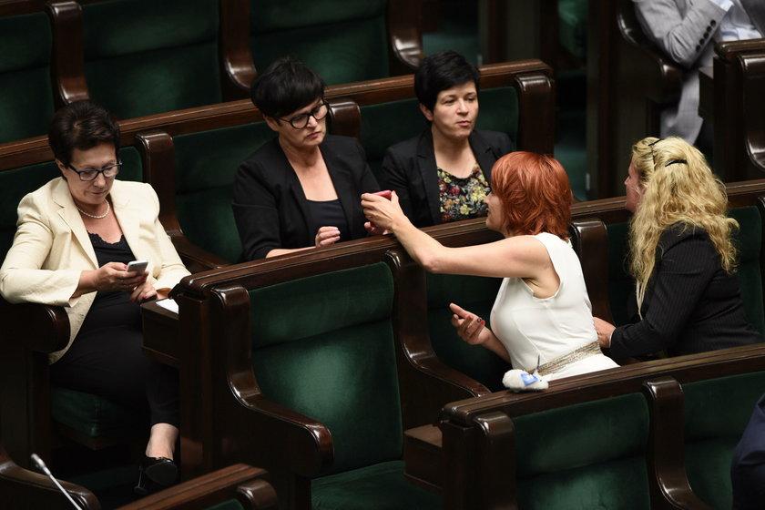 Awantura w Sejmie. Skandal na sali obrad