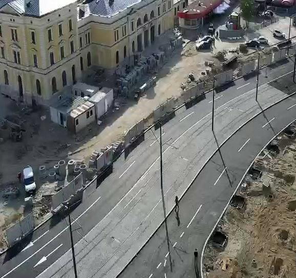 Potez ka Karađorđevoj ulici