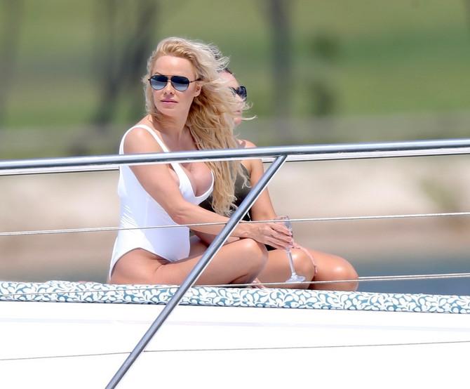 Pamela Anderson na odmoru
