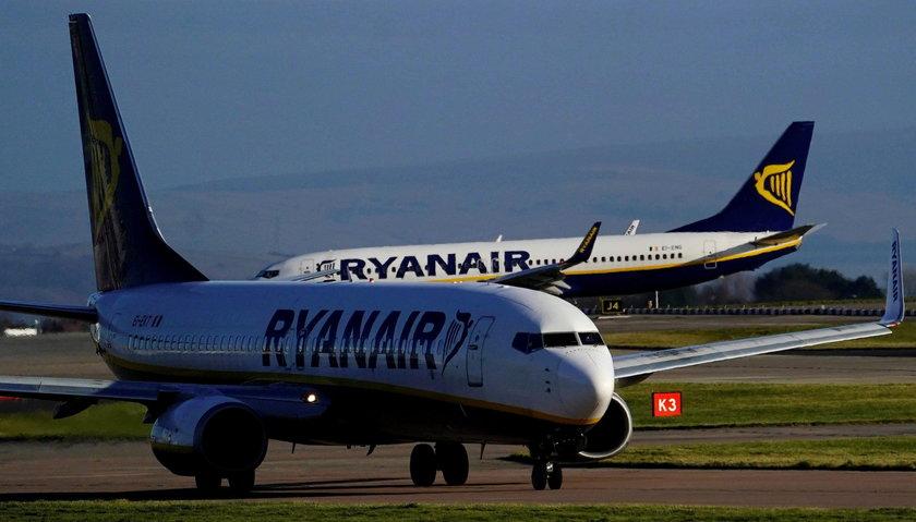 Ryanair chce przenieść samoloty i personel do Polski