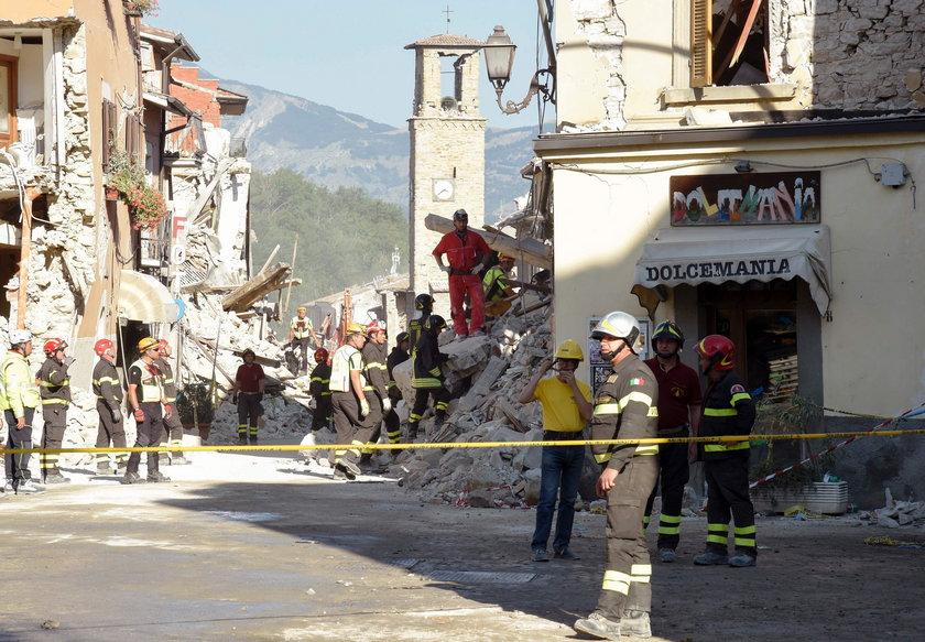 Trzęsienie ziemi we Włoszech. Wzrosła liczba ofiar