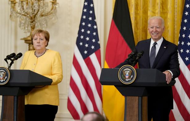 Joe Biden i Angela Merkel