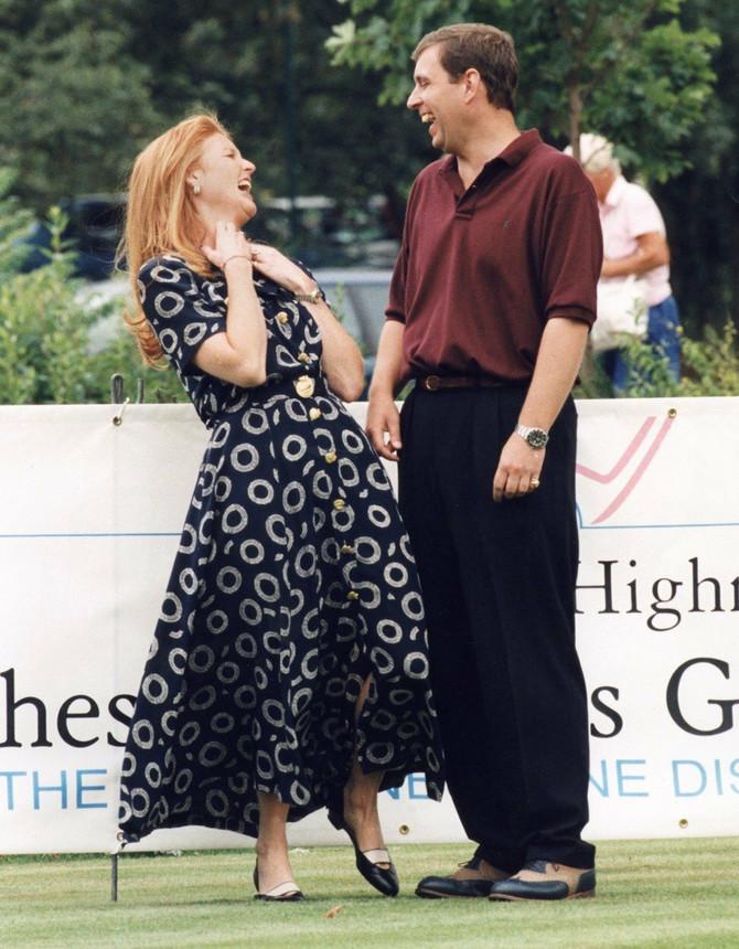 Endrju i Sara - u dobrim odnosima i nakon razvoda