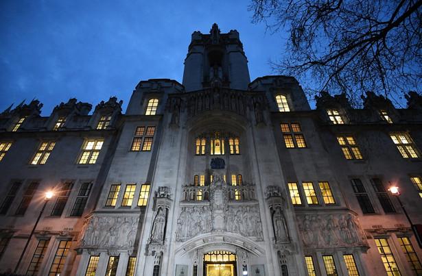 W brytyjskim Sądzie Najwyższym zakończyła się w czwartek rozprawa dotycząca procedury uruchamiającej Brexit.
