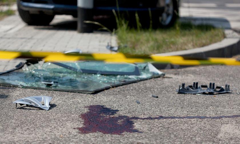 Kierowca bmw zabił go na oczach dzieci.