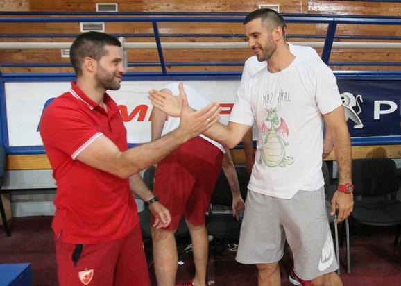 Dušan Alimpijević i Branko Lazić