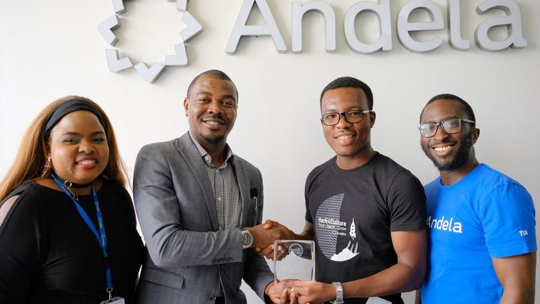 Andela Nigeria and Jobberman team
