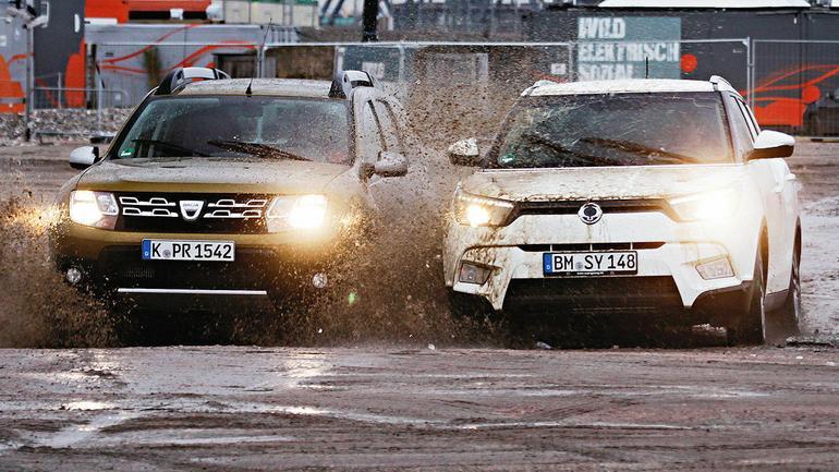 Dacia Duster kontra SsangYong Tivoli - tanie tylko z nazwy