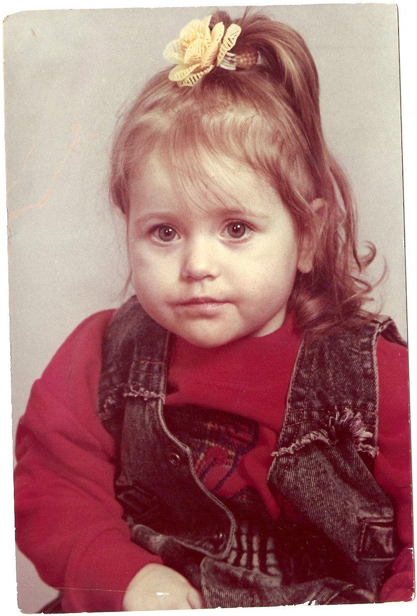 Walerija Żurawlewa w dzieciństwie