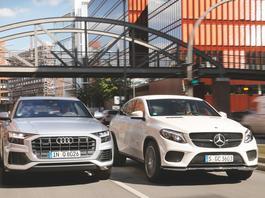 Audi Q8 kontra Mercedes GLE Coupe - porównanie SUV-ów w stylu coupe