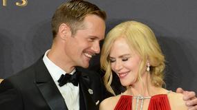 Emmy 2017: Nicole Kidman pocałowała Alexandra Skarsgarda