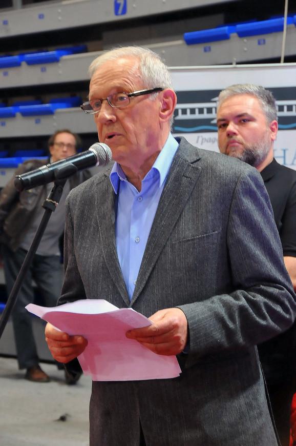 Akademik Milosav Tešić