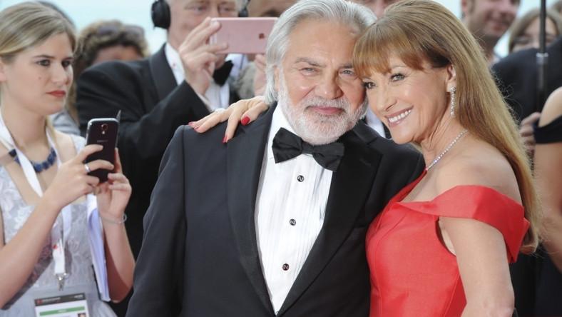 Aktorka przebywa obecnie a Monako - w Monte Carlo odbywa się 56 Festiwal Telewizyjny, w którym bierze udział...