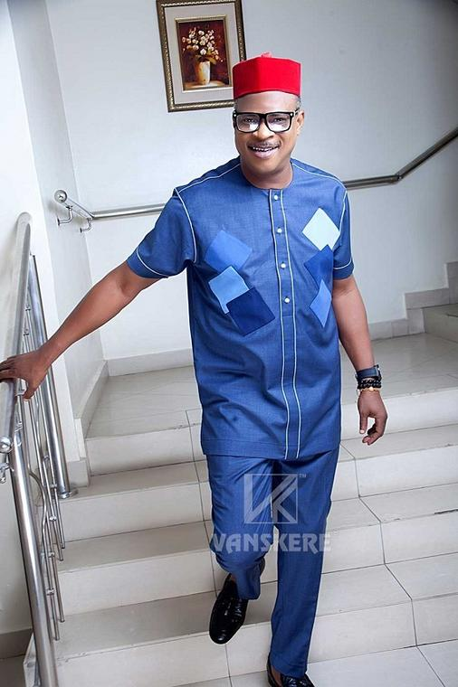 Veteran actor, Fred Amata, features in the ''Possible Conversations'' campaign by Vanskere
