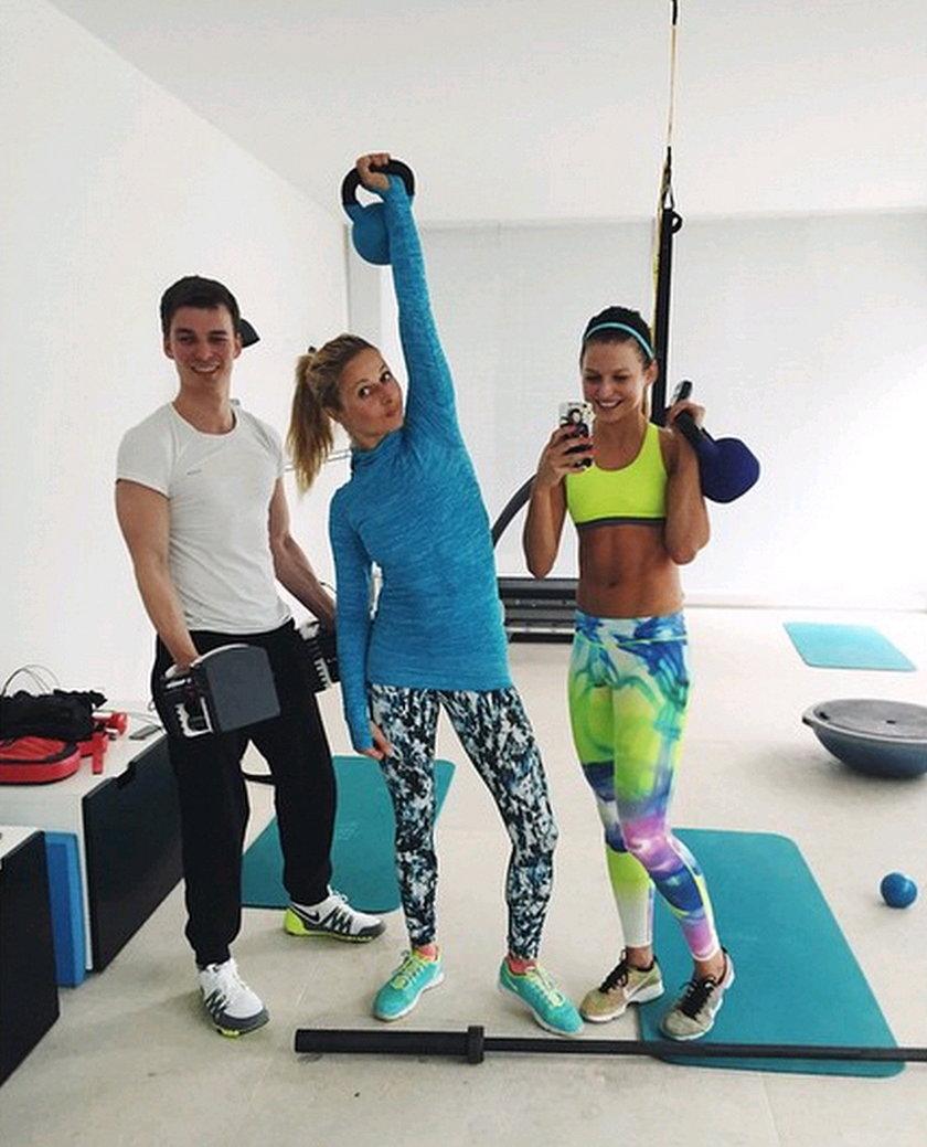 Lewandowska chwali się rodziną! Zabrała ich na siłownię i nakarmiła!